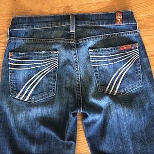 { 7FAM} Dojo Jeans Size 25